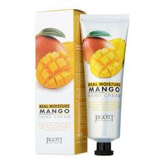 Jigott Real Moisture Mango Hand Cream - Крем для рук с экстрактом манго