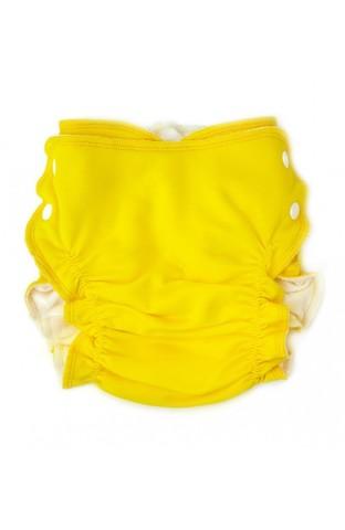 Подгузник на боковых кнопках (Желтый)