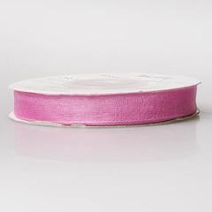 Лента органза OR-10 розовая бл.
