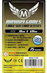 Протекторы для настольных игр Mayday Special Order Custom WOTR-CE (70x120) - 75 штук