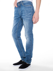 BJN005433 джинсы мужские, медиум-лайт