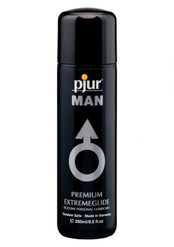 Анальная смазка для мужчин на силиконовой основе pjur MAN Extreme Glide (250 мл)