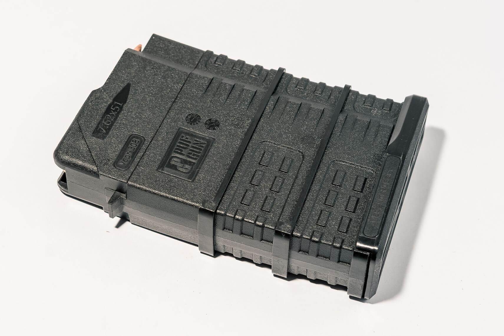 Магазин Pufgun Вепрь-308 на 15 патронов, черный