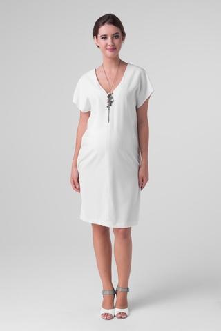 Платье для беременных 06203 белый