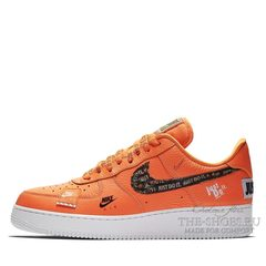 Кроссовки Nike Air Force 1'07 Just Do It Pack Orange