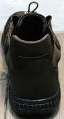 Кроссовки для повседневной носки мужские осень весна Luciano Bellini 71748 Brown