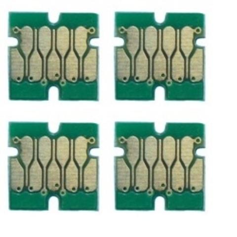 Комплект чипов T41F5, T41F2, T41F3, T41F4 для Epson SureColor T3400/T5400 (4 цвета) UNItech (Apex)