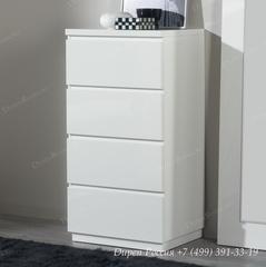 Комод вертикальный DUPEN (Дюпен) S-111 Белый