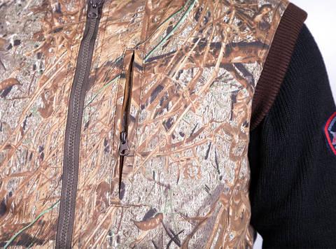 Охотничий жилет с подогревом RedLaika RL-H-06 (камыш)