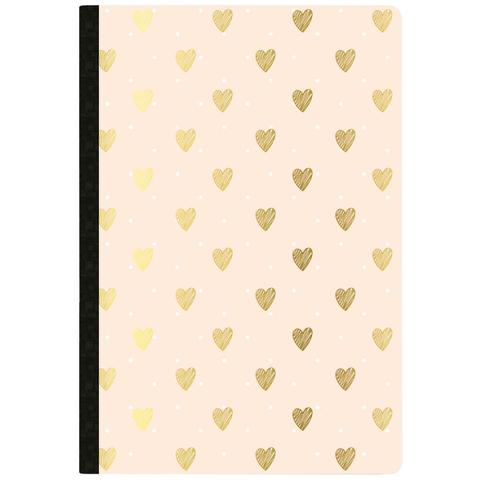 Тетрадь-еженедельник Color Crush Composition Planner Notebook  -Gold Heart Day Tracker- 80л