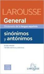 Diccionario General de Sinonimos y Antonimos