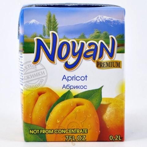 Нектар абрикосовый Noyan, 200мл