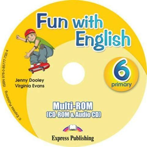 Fun with English 6. multi-ROM (CD-ROM & Audio CD ). Аудио CD/CD-ROM