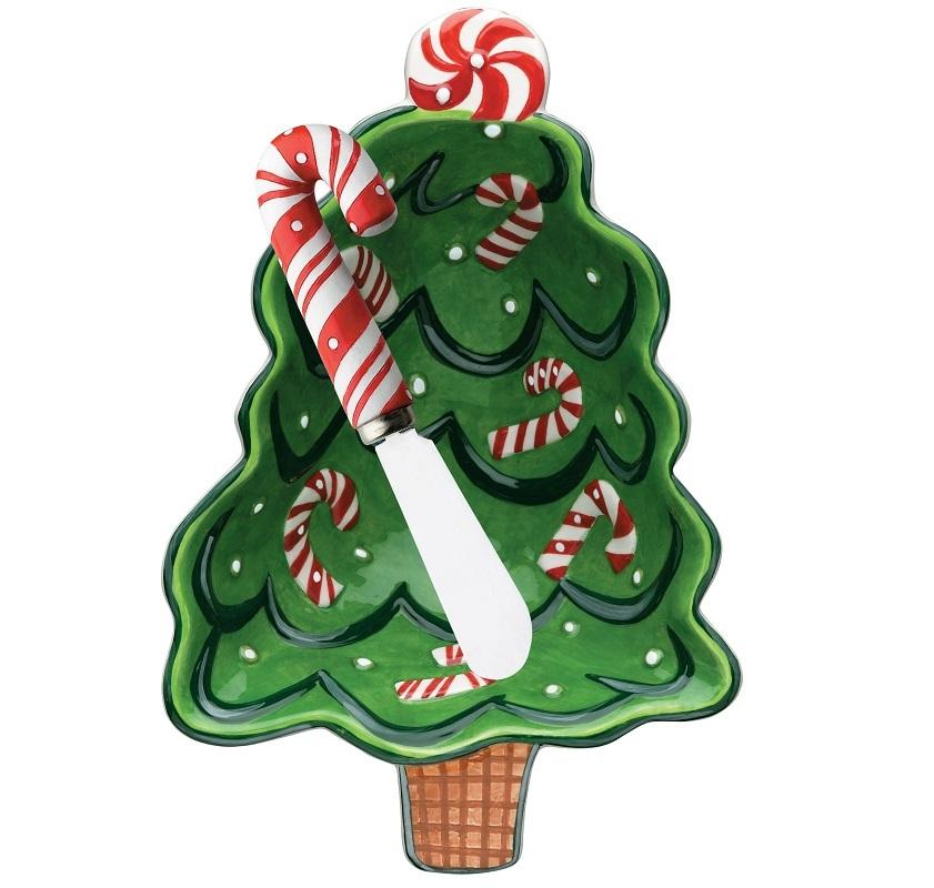 Кухня Набор чаша глубокая и нож Boston Warehouse Candy Tree nabor-chasha-glubokaya-i-nozh-boston-warehouse-candy-tree-ssha.jpg