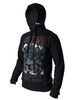 "Black insulated hoodie kangaroo ""Deadmen's attack"""