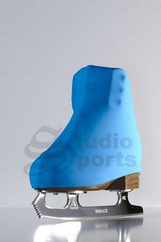 Термочехлы на ботинки (голубые)