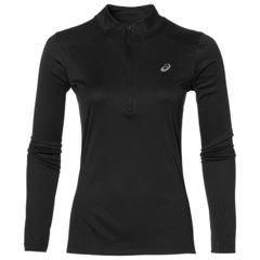 Женская беговая рубашка с молнией Asics LS 1/2 ZIP TOP 134108 0904