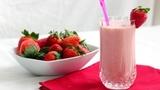 Молочный напиток (клубника)  500 мл. от КФХ Мотин