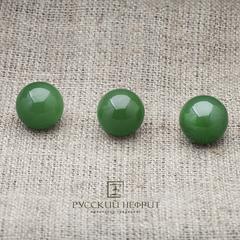 Шарик 12мм. Нефрит  зелёный (класс бриле).
