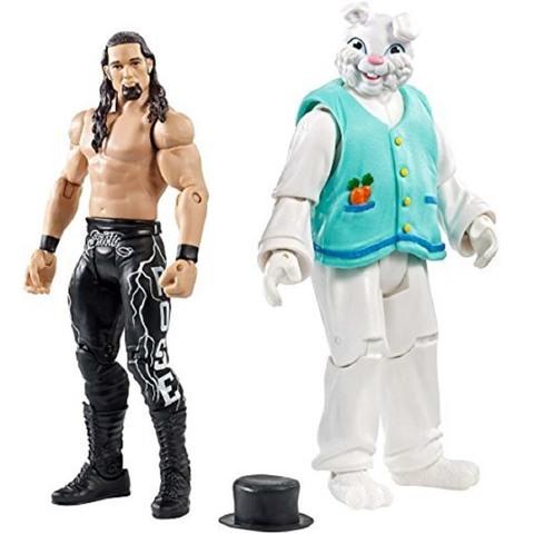 Набор фигурок рестлеров: Адам Роуз и Кролик. Бойцы WWE