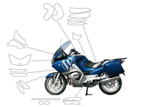 Прозрачные наклейки для защиты краски BMW R1200RT(-09`) (набор)