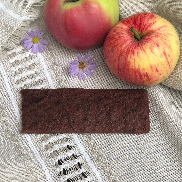 Фотография Пастила фруктовая батончик яблочный с киви, 35 г. купить в магазине Афлора