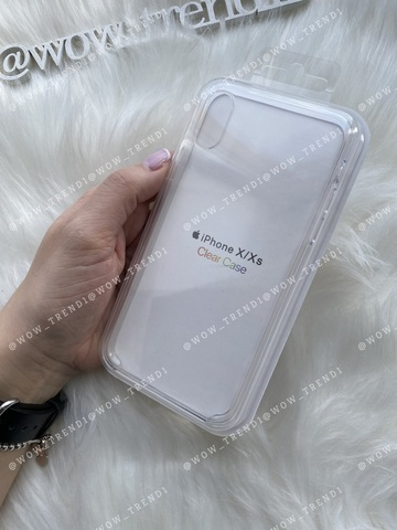 Чехол iPhone X/XS Clear Case