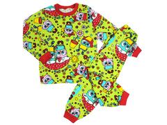 BK580K-7 пижама детская, зеленая