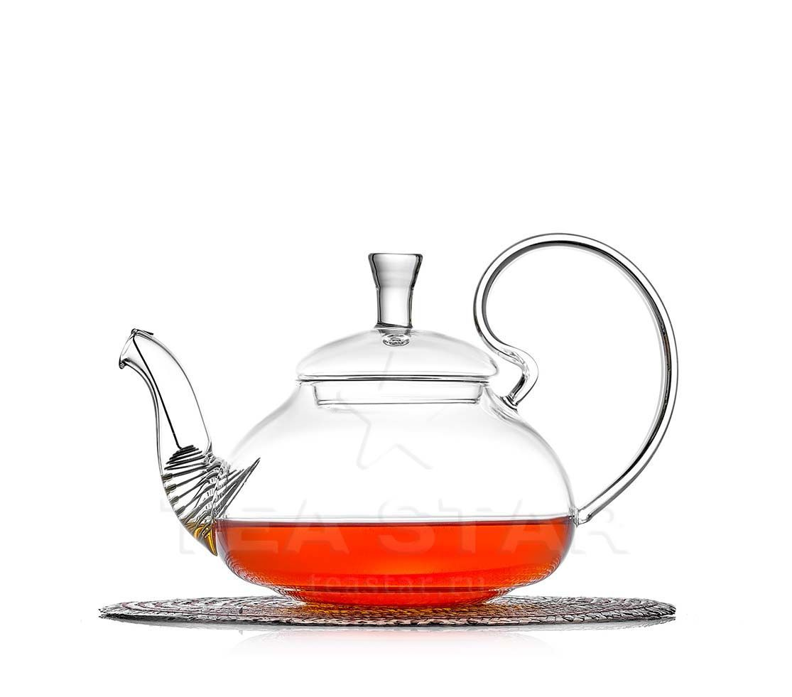 Заварочные стеклянные чайники Чайник заварочный, стеклянный, с фильтром, Георгин 600 мл chaynik_georgin_600ml.jpg