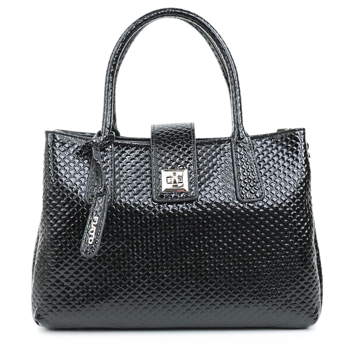 5277 Fiato  анаконда черный  (сумка женская)
