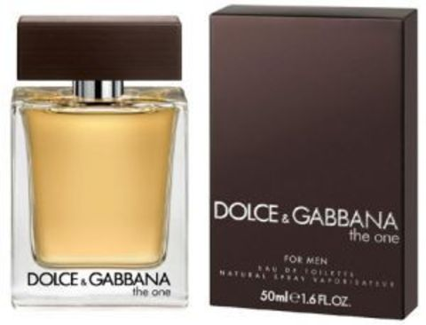 "Dolce And Gabbana ""The One For Men"""