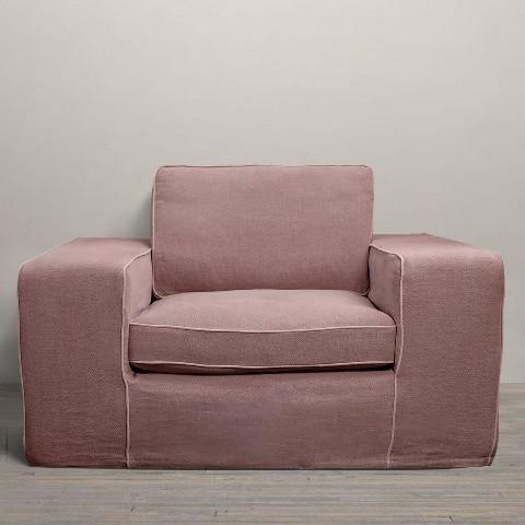 Кресла Кресло Restoration Hardware Салмон kreslo-roomers-salmon-niderlandy-vid-speredi.jpeg