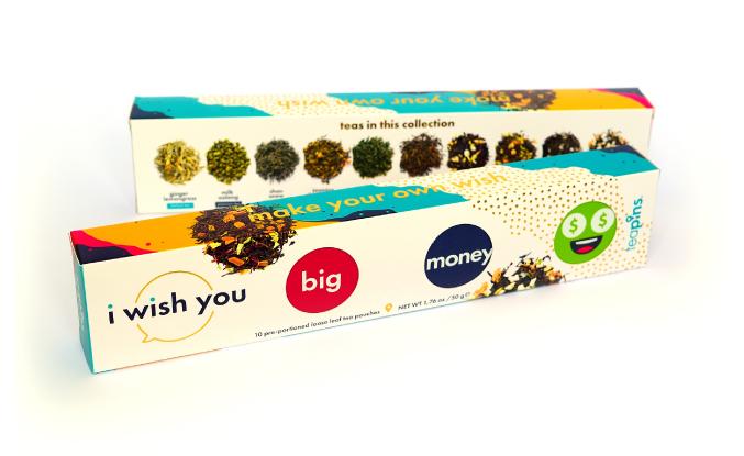 Подарочный набор с пожеланиями фермерского вьетнамского чая I Wish You, Sense of Asia, 10 пак.