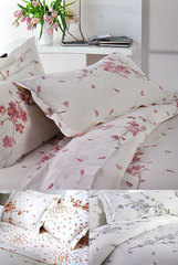 Постельное белье 2 спальное евро макси Mirabello Rami di Pesco перкаль розовое
