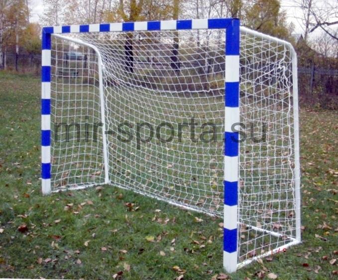 Ворота для минифутбола с синей разметкой