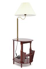Столик газетница с лампой SR-0751-LP