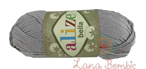Пряжа Alize Bella 21 серый