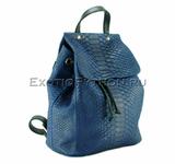 Рюкзак из кожи питона BG-285