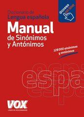 Diccionario Manual de Sinonimos y Antonimos