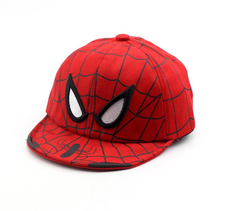 Человек паук бейсболка детская летняя