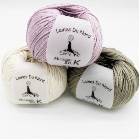 Mulberry Silk  (Laines du Nord)