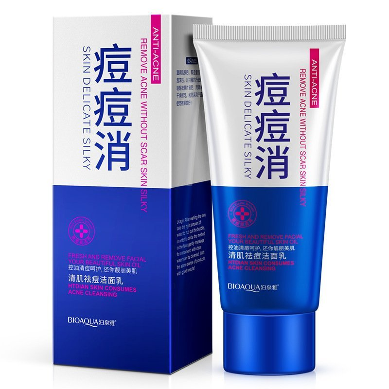 Bioaqua Пенка для умывания анти-акне Anti-Acne Foaming Cleanser, 100 мл