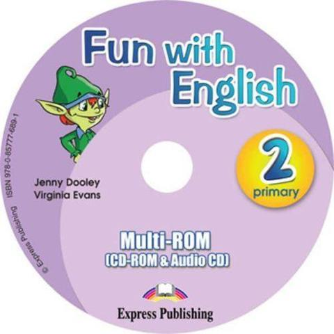 Fun with English 2.multi-ROM (CD-ROM & Audio CD ). Аудио CD/CD-ROM