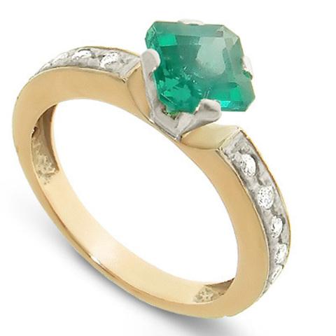 0825 Изумруд бриллианты
