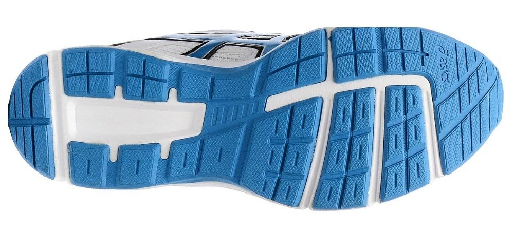 Детские спортивные беговые кроссовки Asics Gel-Galaxy 8 GS (C520N 0142) белые