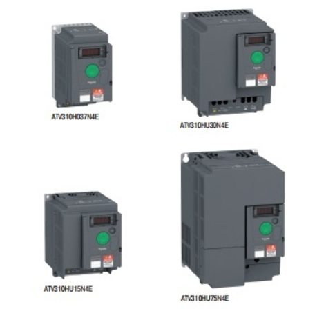 Регулятор скорости ATV310H037N4E частотный 0.37 кВт 380 В