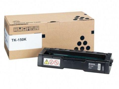 Kyocera TK-150K - Тонер-картридж для принтеров Kyocera FS-C1020MFP, FS-C1020MFP+. Ресурс 6500 страниц.