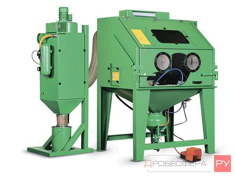 Пескоструйная камера промышленная напорная ECO-100PL