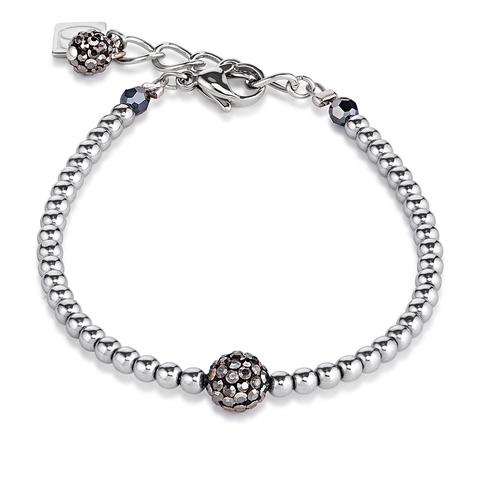 Браслет Coeur de Lion 0112/30-1223 цвет серебряный, серый