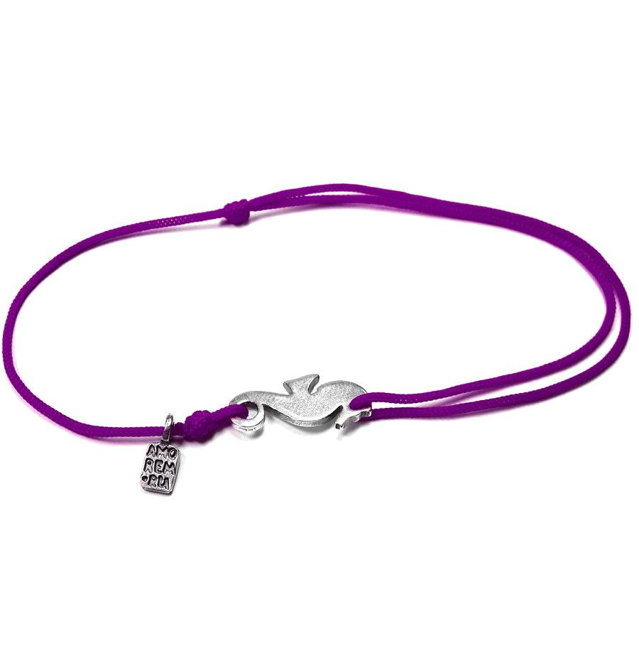 Seahorse bracelet, Sterling Silver